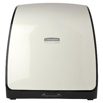 Kimberly-Clark profesional 36035 Mod slimroll compacto toalla dispensador, color blanco: Amazon.es: Amazon.es
