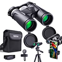 Amazon.com deals on Tacklife 10x42 Binoculars with BAK4 Prism Case Included MBC02