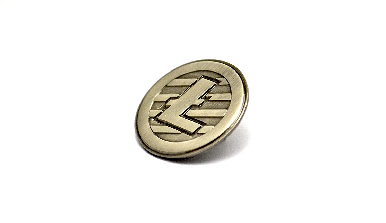 The Litecoin Pin Sloth Steady