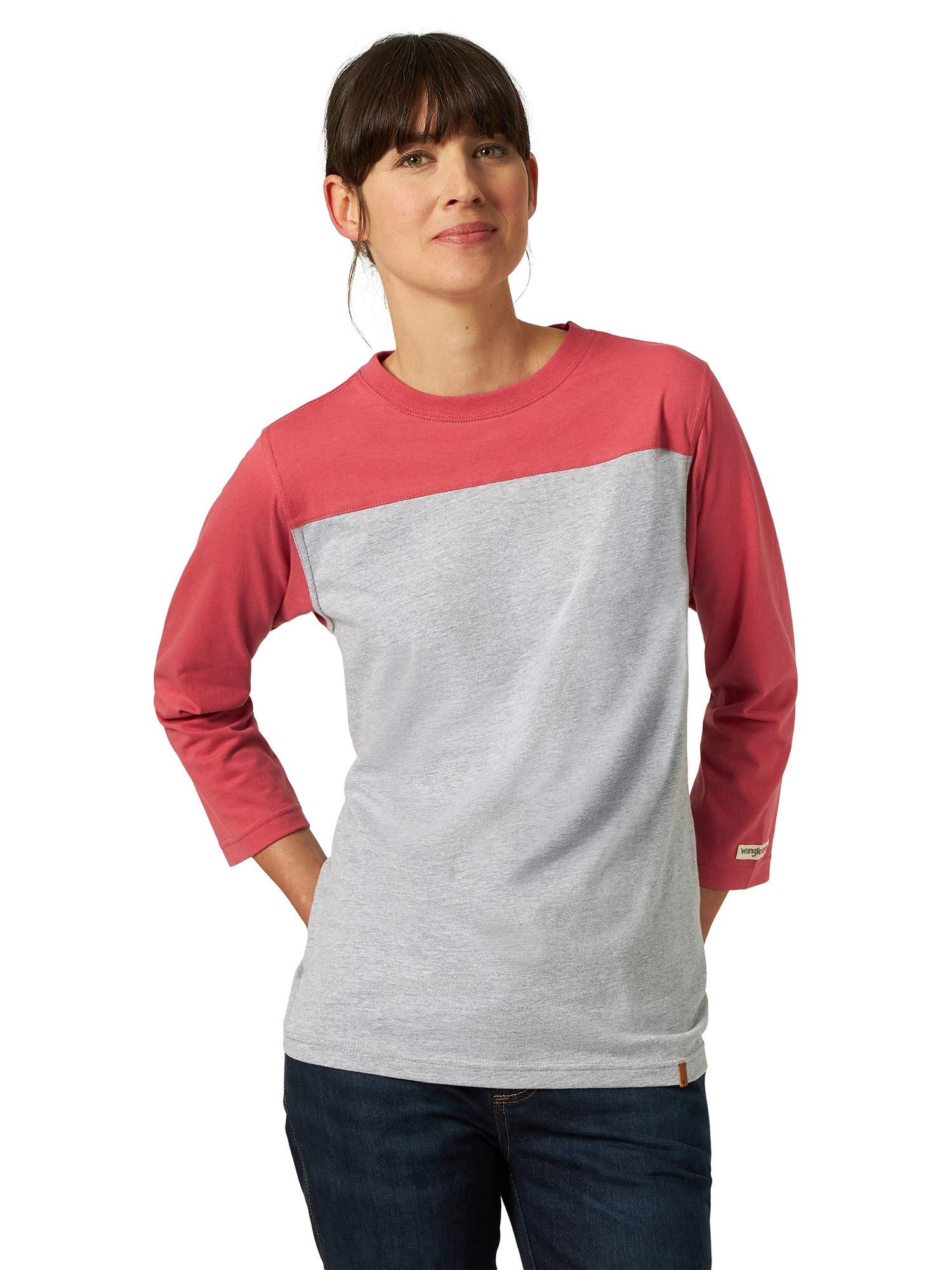 Wrangler Riggs Workwear Women's 3/4 Sleeve Performance T-shirt