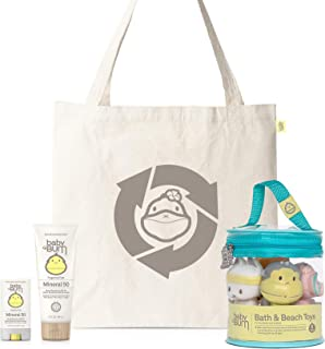 product image for Baby Bum Duke's Beach Bundle | Baby, Toddler and Kid Friendly Beach Set with Fragrance Free Mineral SPF 50 Lotion, SPF 50 Face Stick, and Beach Toys