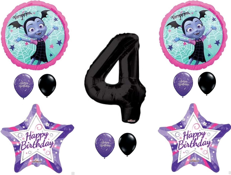 VAMPIRINA Birthday Party Supply Kit Pack For 16 FREE SHIP w//Balloons