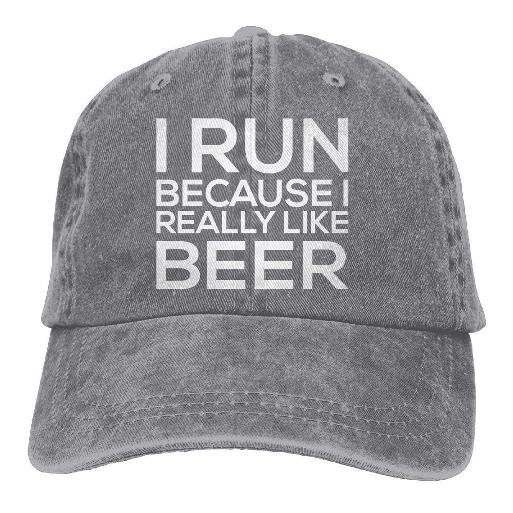 Corre Porque Realmente me Gusta Cerveza Ajustable Tenis ...