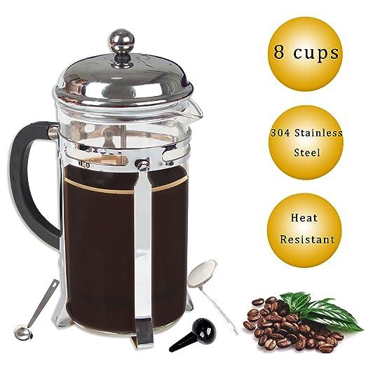 Resistente al calor prensa de café francés. Se puede lavar en ...