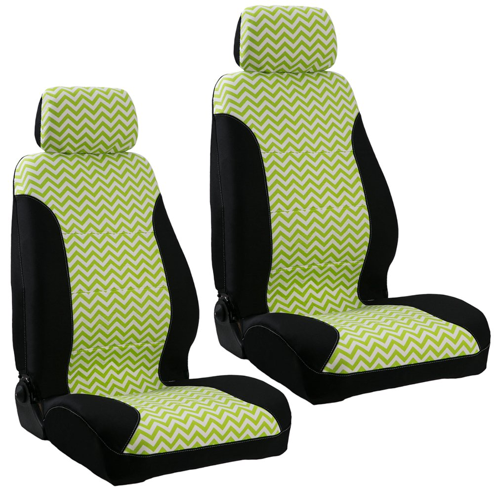 Lime Green Car Seat Covers