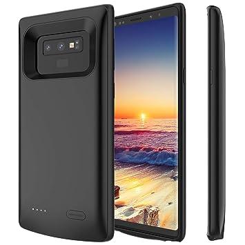 PEYOU Funda Batería para Samsung Note 9, 5000mAh Recargable Externa Portátil Batería Cargador de Batería, Alta Capacidad Protector Backup External ...
