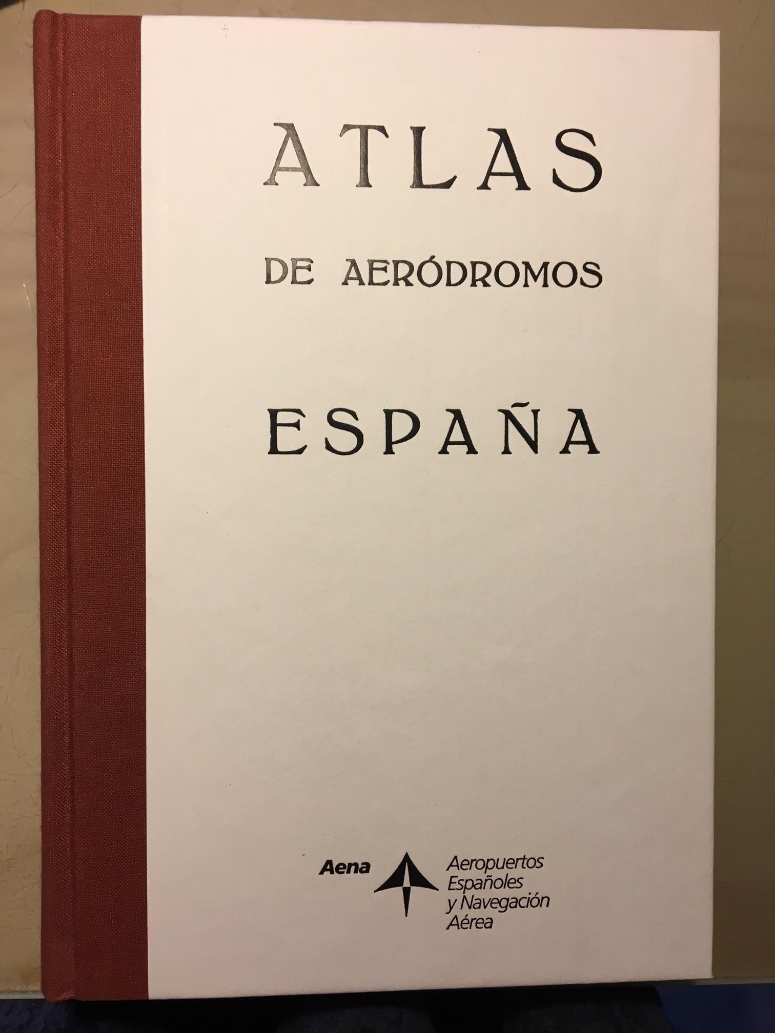 ATLAS DE AERODROMOS ESPAÑA. Ca. 1934.: Amazon.es: Sin autor: Libros