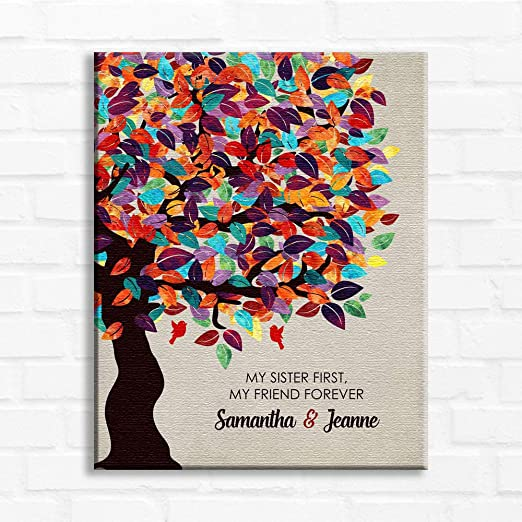 """YOUR CUSTOM PERSONALIZED PICTURE PHOTO PRINT ON CANVAS WITH FRAME 8 X 10/"""" GICLEE"""