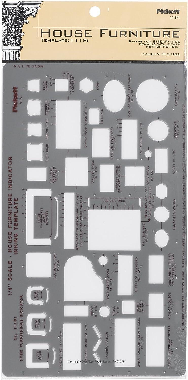 Pickett House Furniture Indicator Template (111PI)