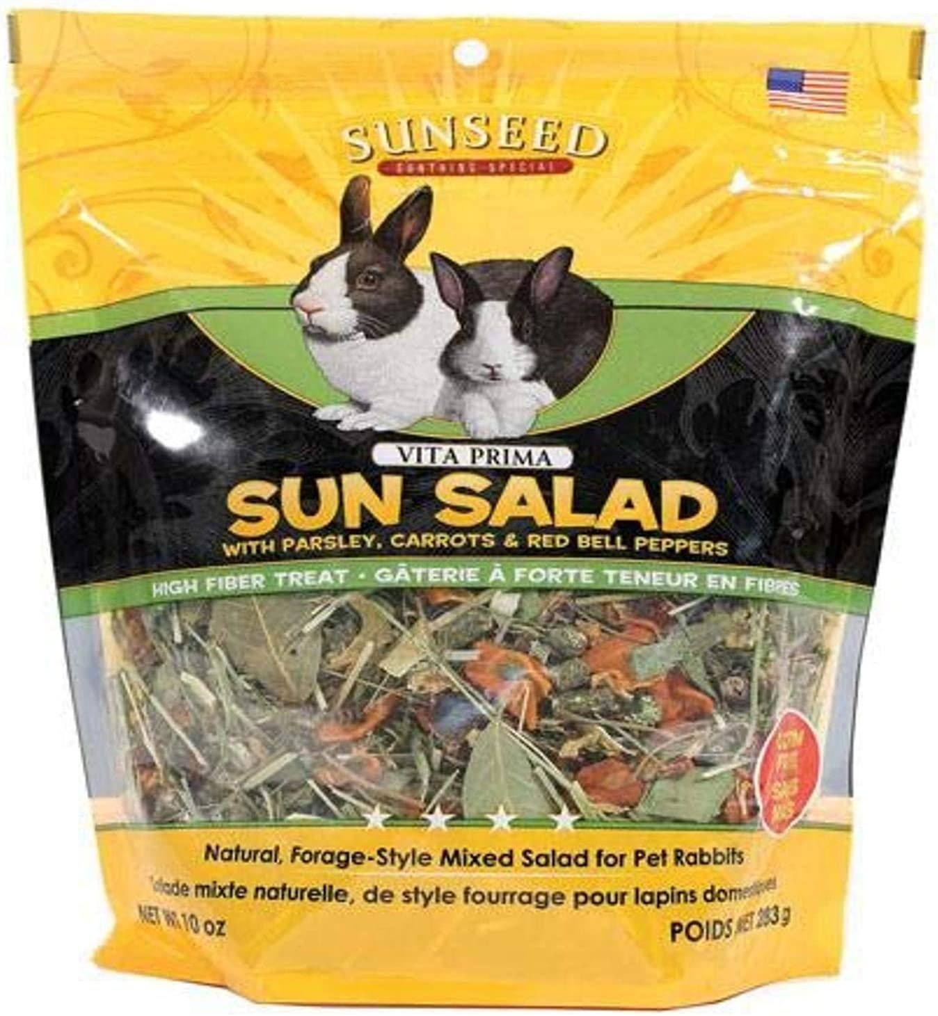 Sunseed Company 36065 Vita Prima Sun Salad For Rabbits, 10 Oz
