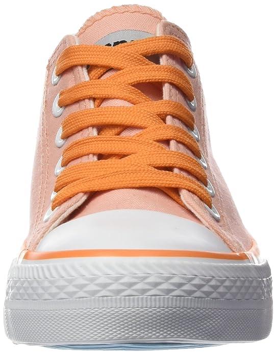 13991 Mtng Toile Orange - Chaussures Pour Femmes, Orange, Taille 39