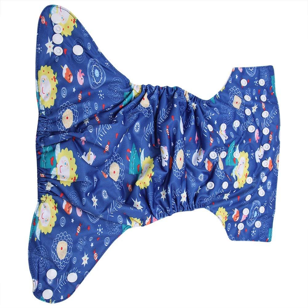Gebl/ümt Schwimmwindel Baby Snap Absorbent Waschbar Badeanzug Windel Wiederverwendbar Schwimmwindel f/ür Jungen M/ädchen Schwimmen Lektionen Einheitsgr/ö/ße #1