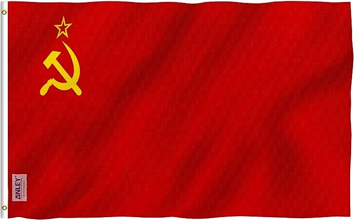 Anley Fly Breeze 90 x 150 cm Bandera Unión Soviética - Colores ...