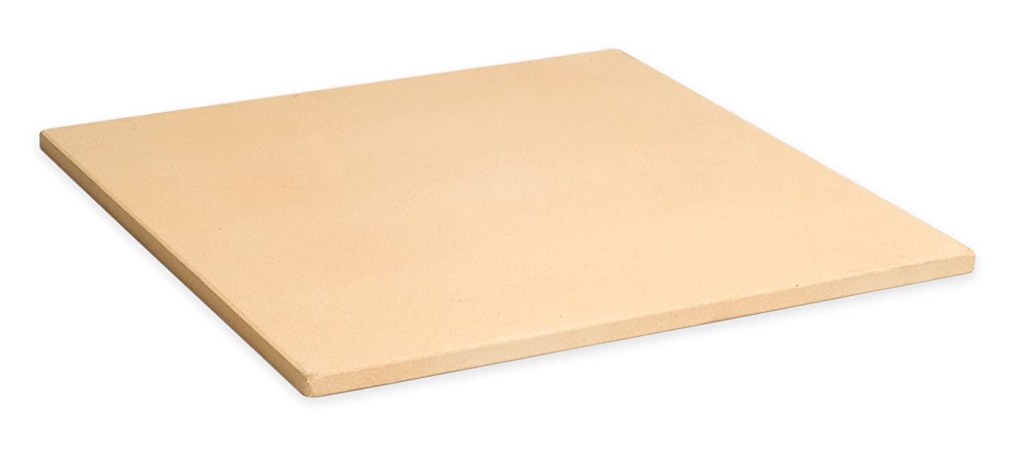 "Pizzacraft PC9897 15"" Square ThermaBond Pizza Stone for Oven or Grill"