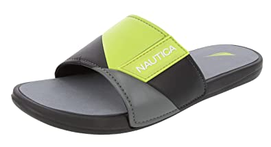 2b326caffa997 Nautica Men's Gantry Athletic Slide, Strap Comfort Sandal