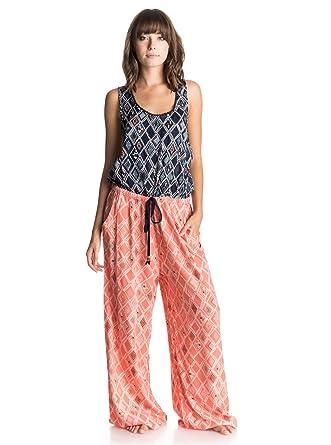 97861402df Amazon.com: Roxy Junior's Sun Kissed Romper Crossback Dress: Clothing