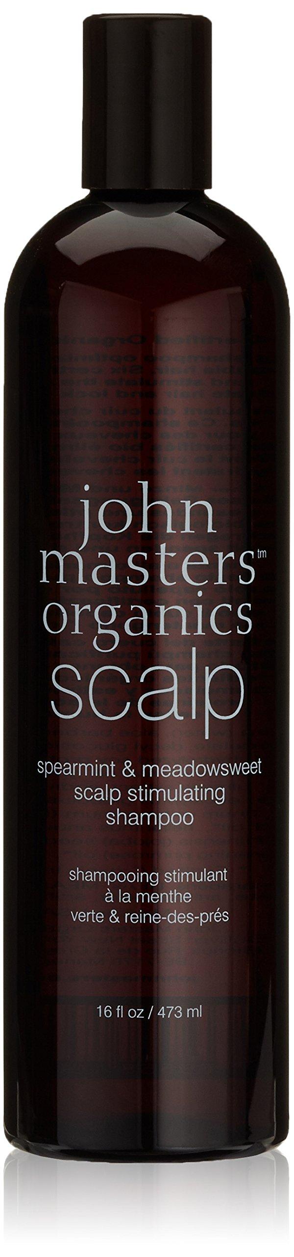 John Masters Organics menta verde y el cuero cabelludo de los prados Estimular Champú, 473ml