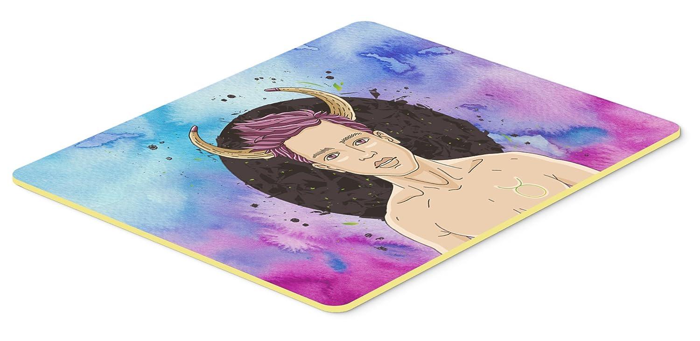 Carolines Treasures BB7318CMT Taurus Zodiac Sign Kitchen Mat 20Hx30W Multicolor