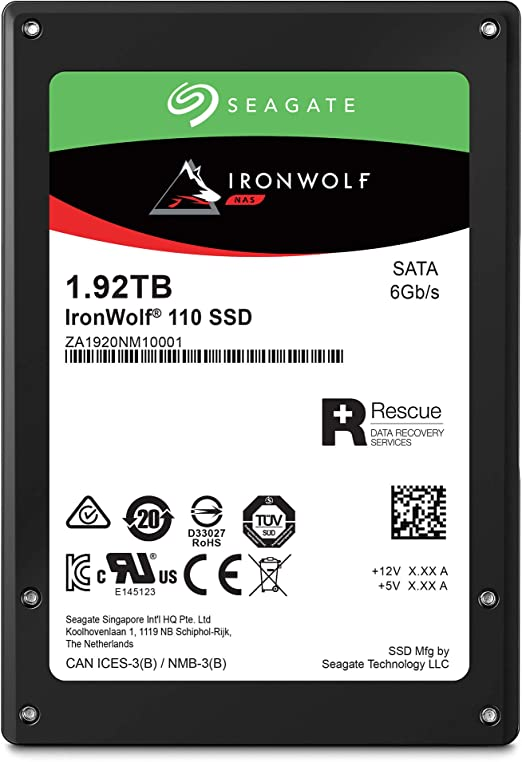 Seagate IronWolf 110 - Disco Duro SSD (2,5