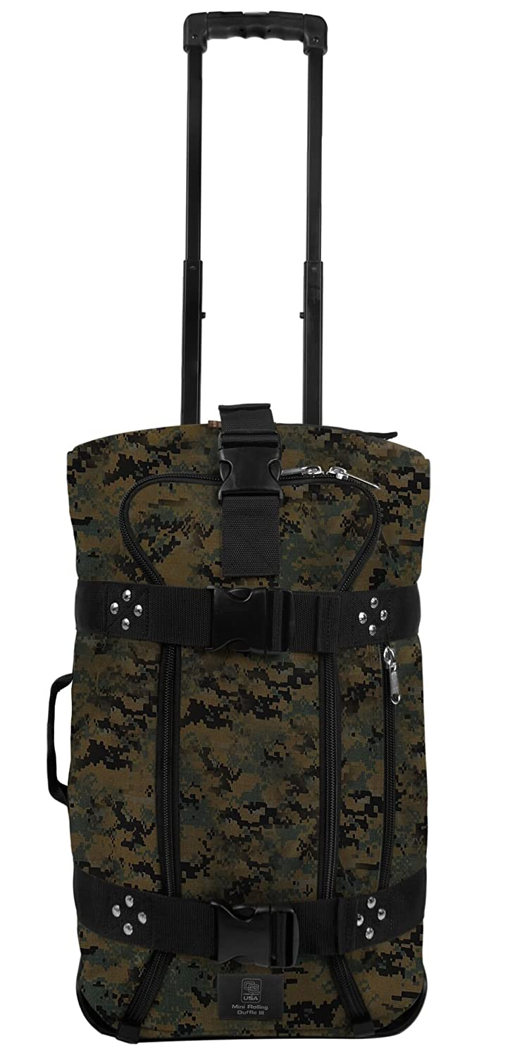 クラブグローブMini Rolling Duffle III Travel Luggage  迷彩 B01G99XRPU