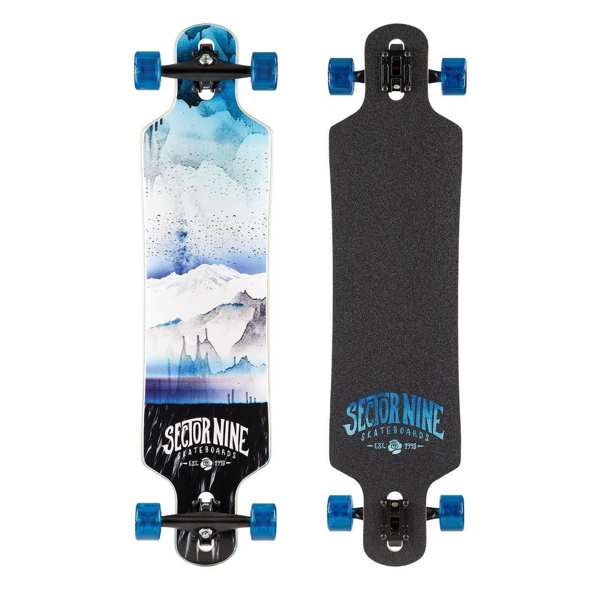 Sector 9 Meridian Complete Skateboard, Blue