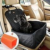 Coprisedile per cane, Lemonda coprisedile anteriore singolo, Coperta telo per proteggere sedile di automobile per animali domestici, coprisedile antiscivolo ed impermeabile (Nero)
