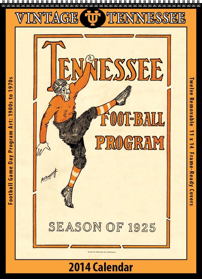 Tennessee Volunteers 2014 Vintage Football Calendar by Asgard Press