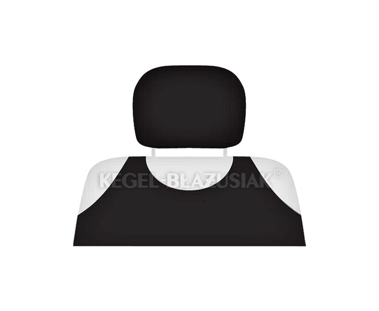 ZentimeX Z711569 Kopfst/ützenbez/üge Baumwolle schwarz