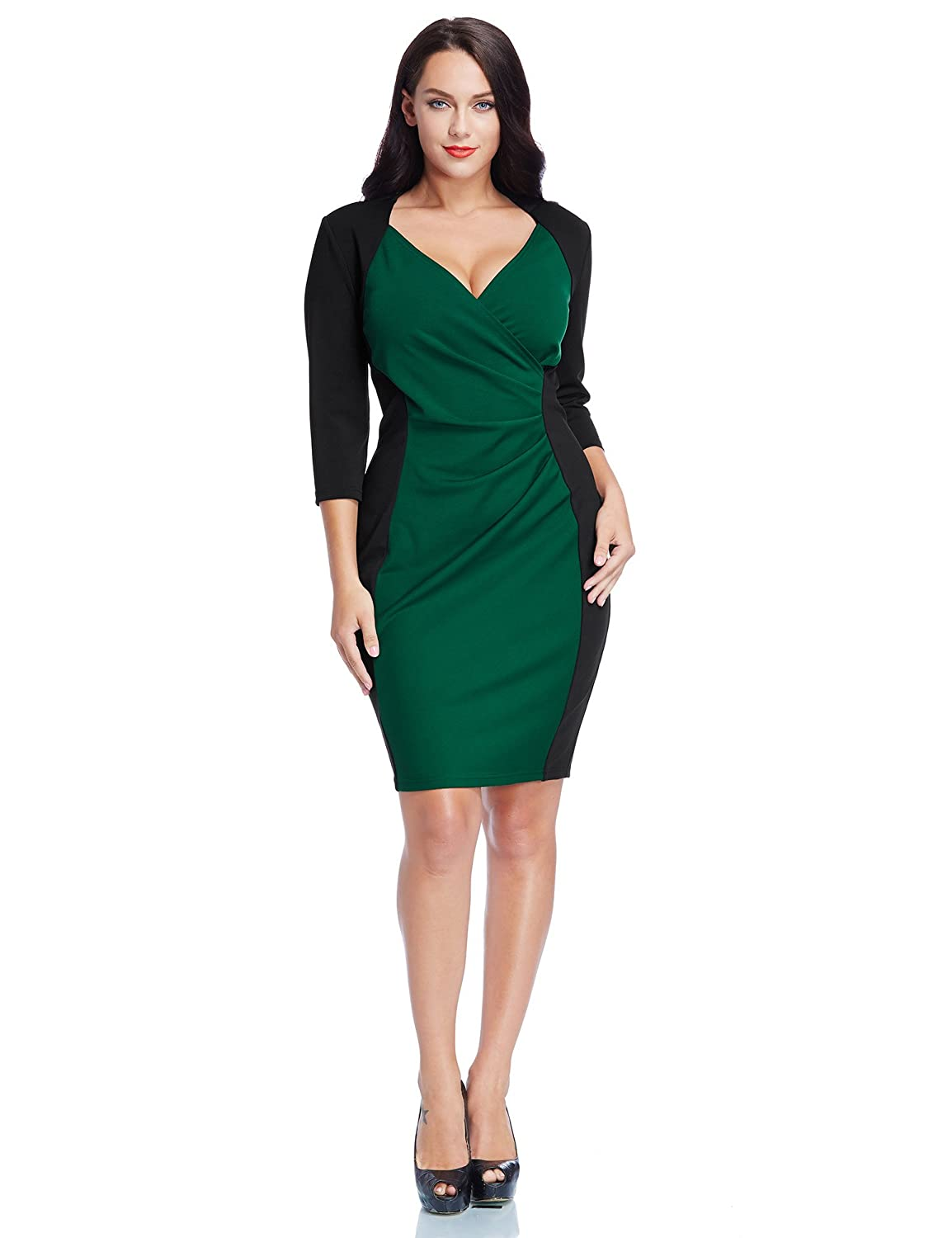 plus size zip dress and appearance