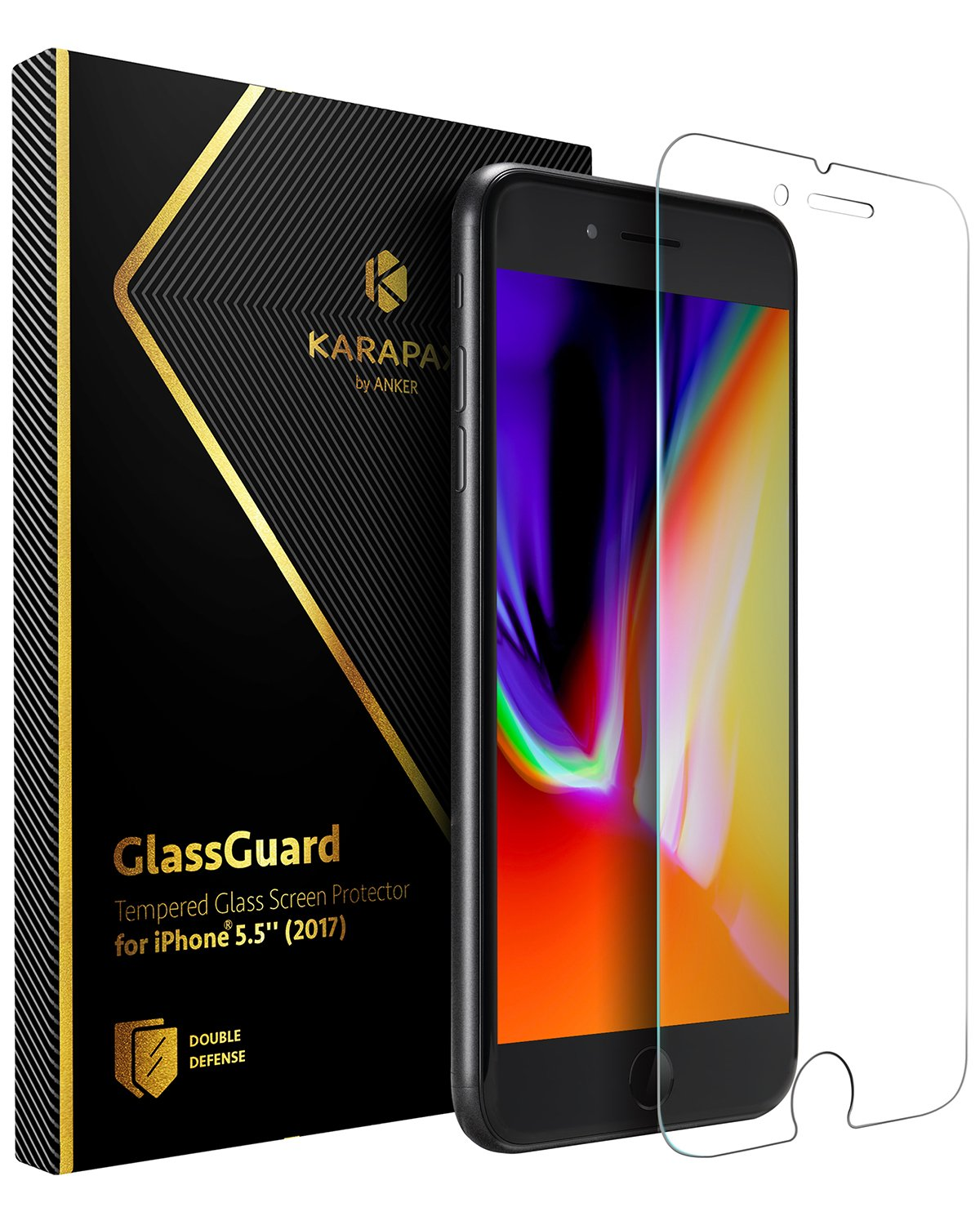 Anker KARAPAX GlassGuard iPhone 8 Plus / 7 Plus 用