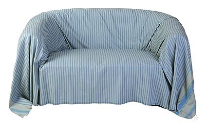 Fouta Futée Marrakech - Manta para sofá (algodón, 300 x 200 ...