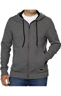 8a7af8de8c84 DKNY Jeans Womens Zip Up Hoodie XL Black   Dark Gray at Amazon ...