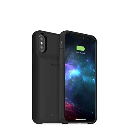 hot sale online ca404 e228d mophie Juice Pack Access - Ultra-Slim Wireless Battery Case - Made for  Apple iPhone Xs/iPhone X (2,000mAh) - Black