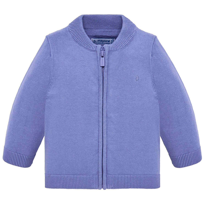 305-90 Baby Strickjacke Jungen Mayoral blau