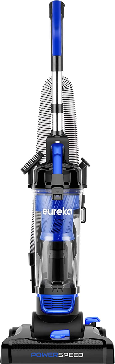 EUREKA PowerSpeed Lightweight Powerful Upright, Pet Hair Vacuum Cleaner for Home, Black