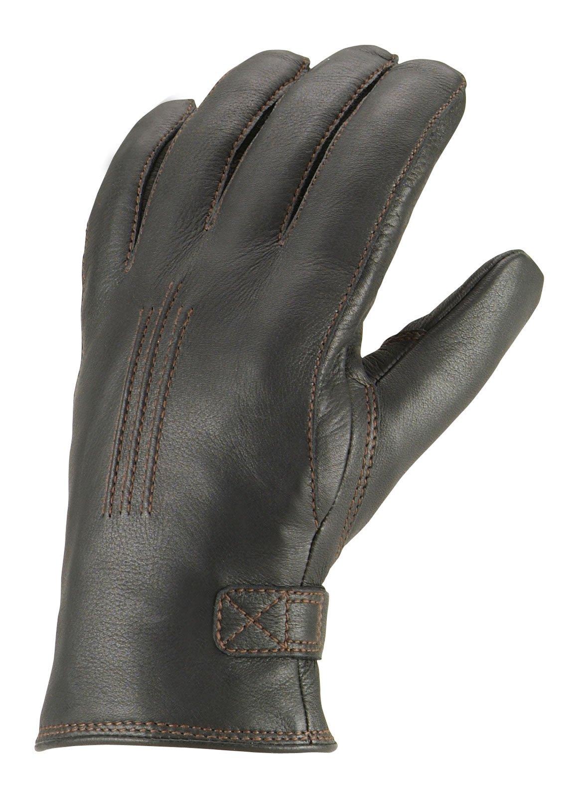 Hestra Deerskin Lambsfur Lined Glove - Men's Black 10