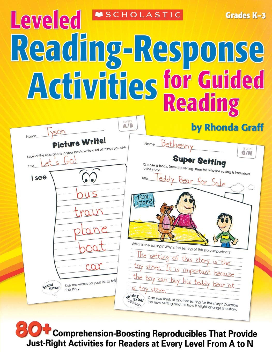- Amazon.com: Leveled Reading-Response Activities For Guided Reading