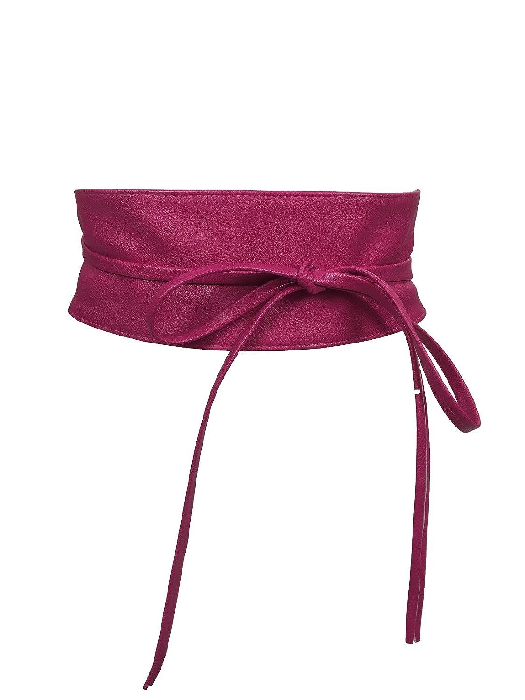 CALIYO Mujer Cinturón wickelg ürtel Cinturón en colores One Size SA de 46 rosa Talla única
