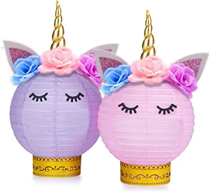 Amazon.com: GRBO Unicornio suministros para fiestas y ...