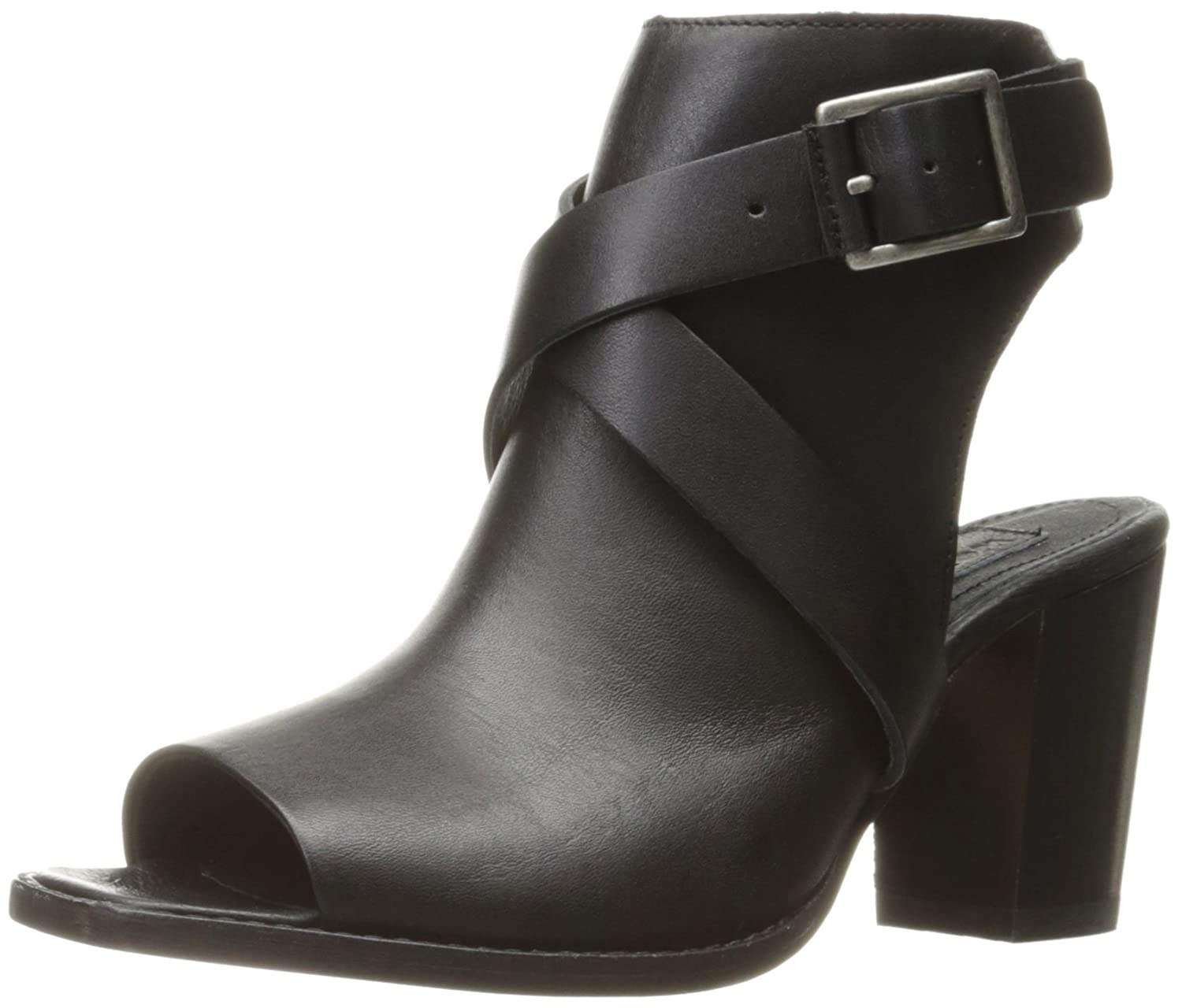 Wolverine 1883 by Women's Piper Open-Toe Boot B01IAOFEG2 8.5 B(M) US|Black Leather