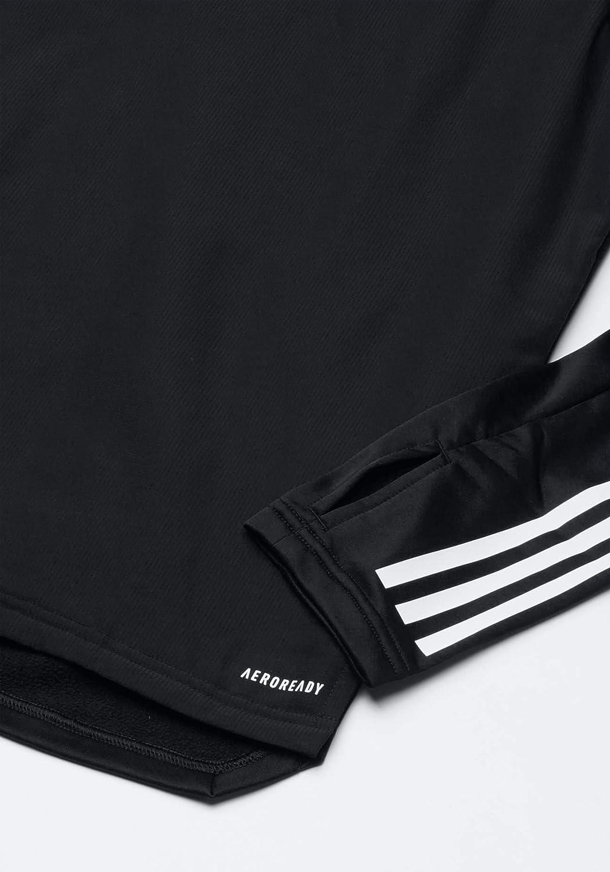 adidas Herren Con20 WRM Top Sweatshirt black/White