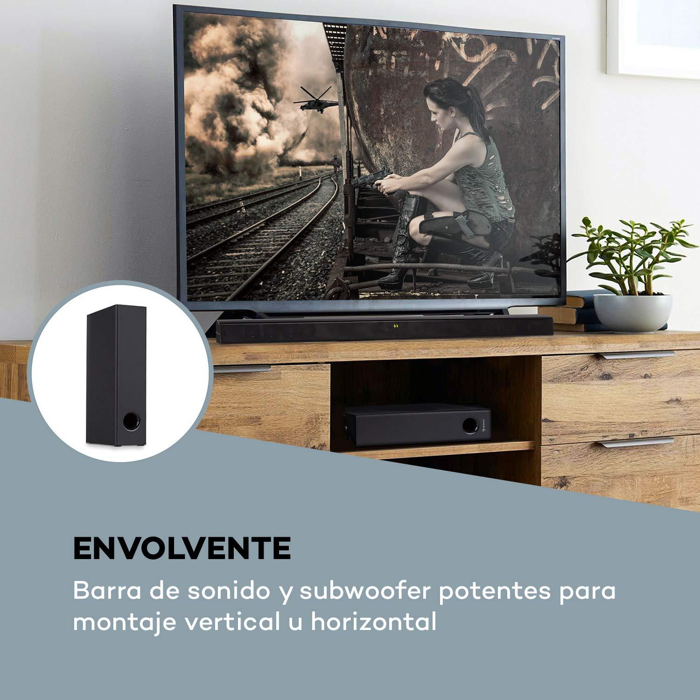 auna Areal Bar 750 Sistema de Sonido 2.1: Amazon.es: Electrónica