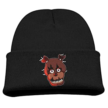 27e15fc6eb4 Five Nights At Freddy Warm Winter Hat Knit Beanie Skull Cap Cuff Beanie Hat  Winter Hats Children  Amazon.ca  Sports   Outdoors