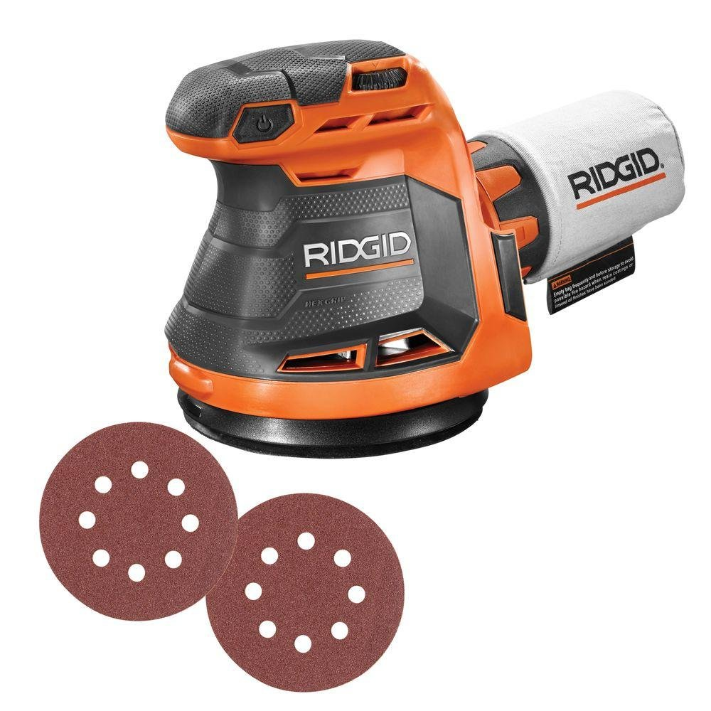 Ridgid R8606B GEN5X 18-Volt 5 in. Cordless Random Orbit Sander (Tool-Only, Battery and Charger NOT Included) by Ridgid (Image #2)