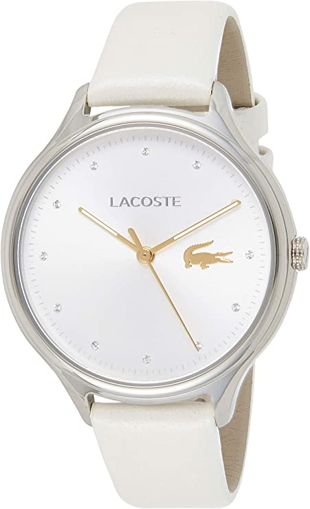 Lacoste Reloj Análogo clásico para Mujer de Cuarzo con Correa en Cuero 2001005