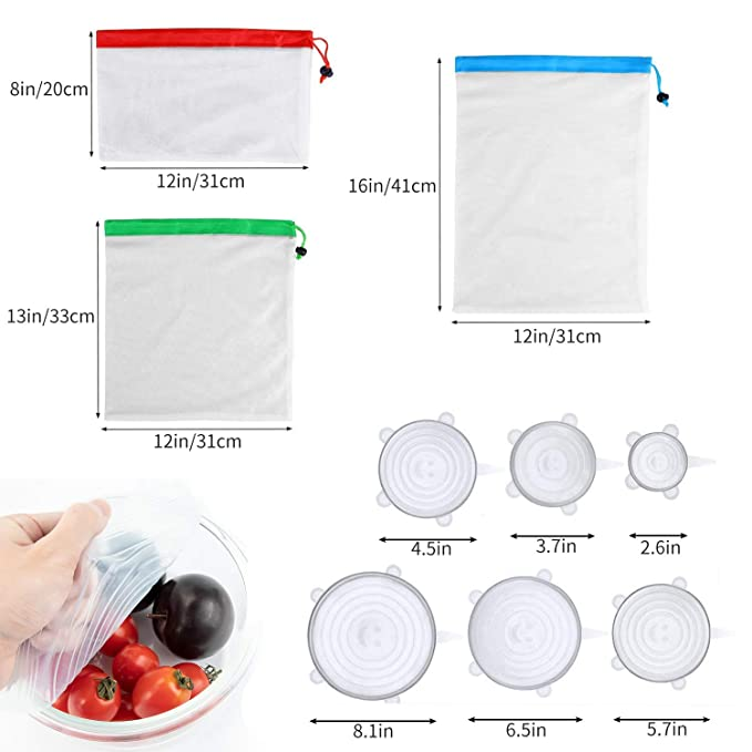 Bolsa de almacenamiento reutilizable de silicona para alimentos ...