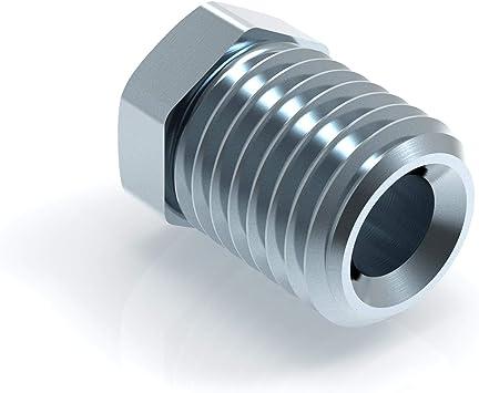 L/änge 160 mm B/ördel E 150mm 3050mm Auswahl: E AUPROTEC Bremsleitung /Ø 4,75 mm Kupfer//Kunifer einbaufertig B/ördel
