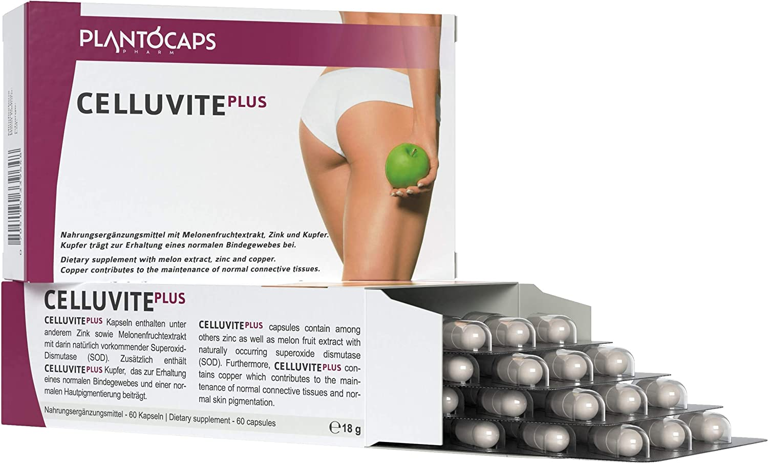 plantoCAPS® CELLUVITE PLUS | Cápsulas anti cellulite, ayuda para ...