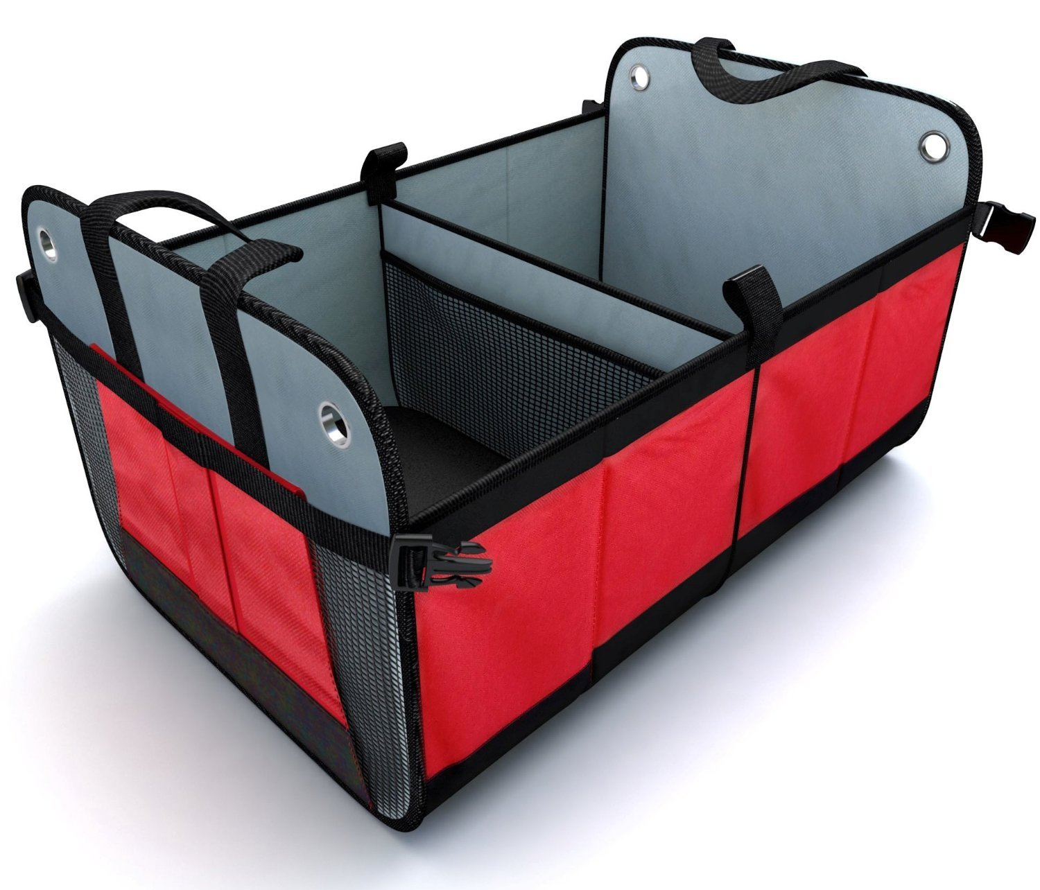 Large Car Boot Organizer (Foldable) – Ultra Sturdy w/ Base Boards to Prevent Collapsing DITU Inc.