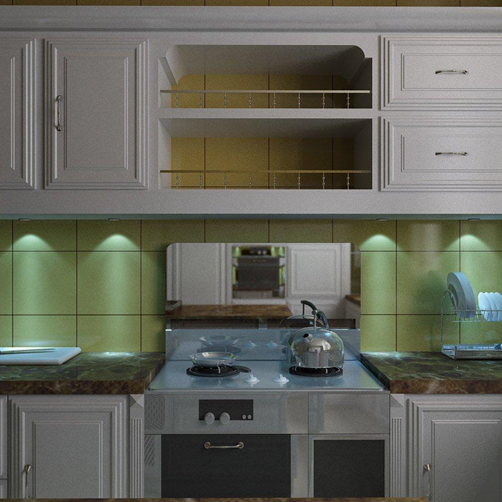 Aiboo LED-Küche-Schrank-Beleuchtung Kit 3X2W 12V LED Puck Lichter ...